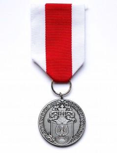 "Srebrny Medal ""Za Zasługi dla Obronności Kraju"""