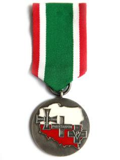 Walecznym Partyzantom medal