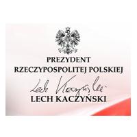 Prezydent Rzeczypospolitej Polskiej Lech Kaczyński