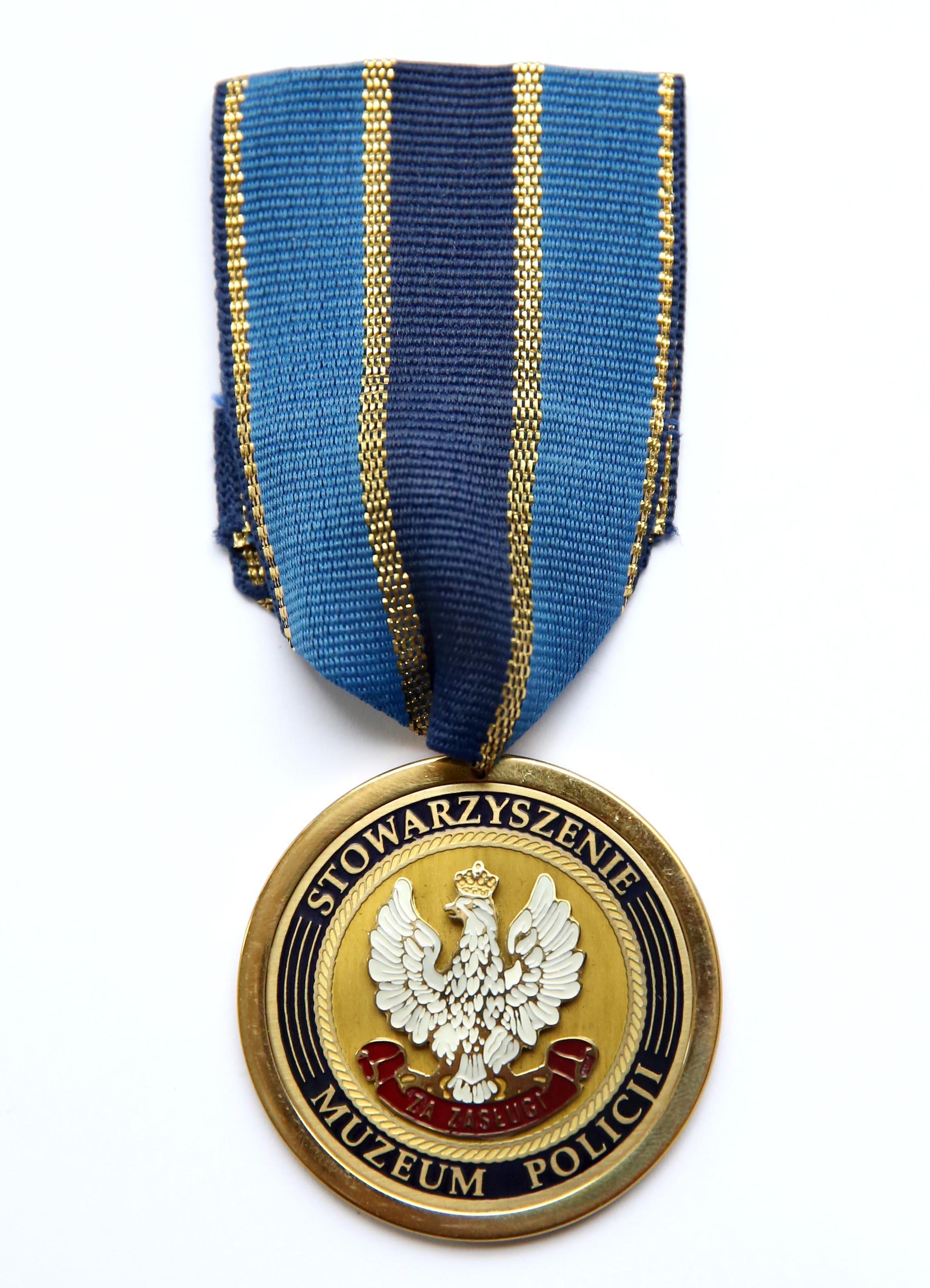 medal za zasługi dla muzeum policji