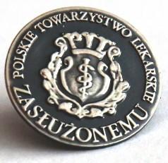 odznaczenie Zasłużonemu – Polskie Towarzystwo Lekarskie