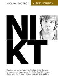 """Zdjęcie okładki książki Alberta Lichanowa """"Nikt"""""""