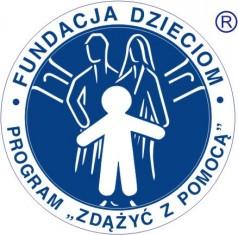 """Logo Fundacji Dzieciom """"Zdążyć z Pomocą"""""""