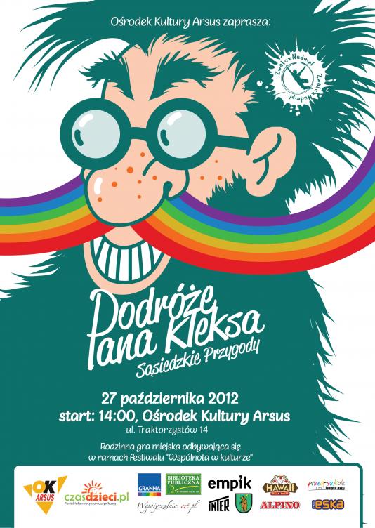 Plakat Gry Miejskiej Zwalcznude.pl