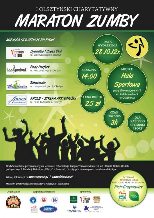 Plakat Maratonu Zumby