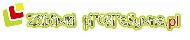 Logo sklepu zabawki progresywne