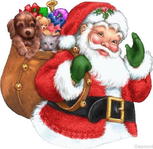 rysunek Świętego Mikołaja