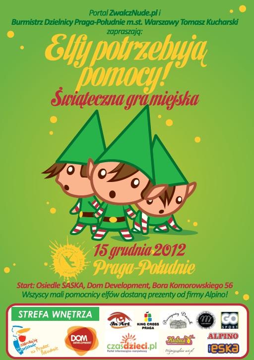 """Plakat Gry Miejskiej """"ZwalczNude.pl"""""""
