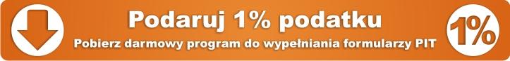 Grafika 1 procent podatku z przekierowaniem do programu do rozliczeń