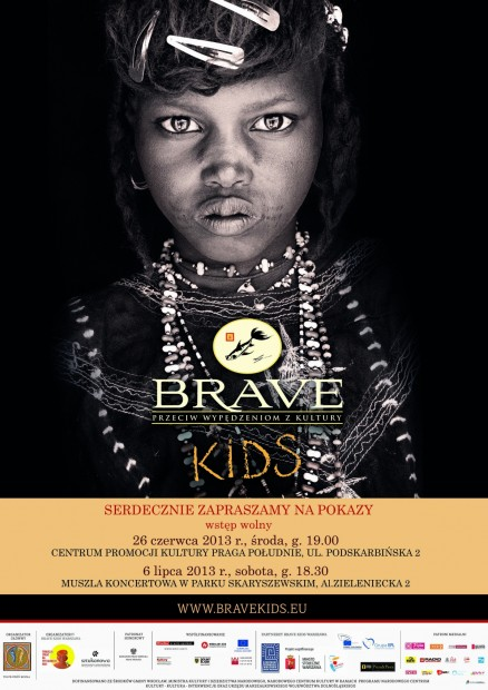 plakat Brave Kids