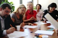 Szkolenie dla rodziców podopiecznych Fundacji fot.5
