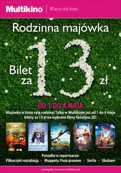 Majówka-13zł-plakat