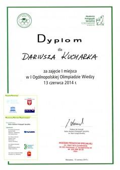 Darek dyplom