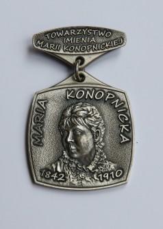 Odznaka honorowa Towarzystwa im. Marii Konopnickiej