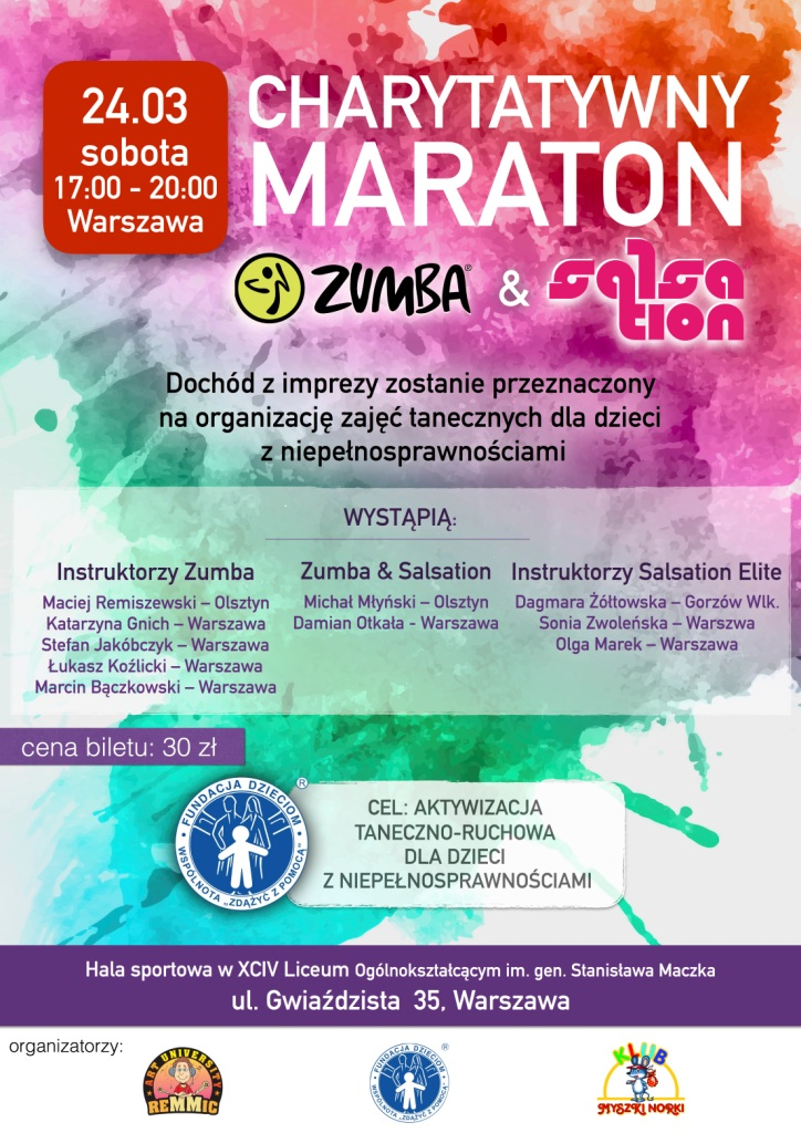 Plakat Zumba