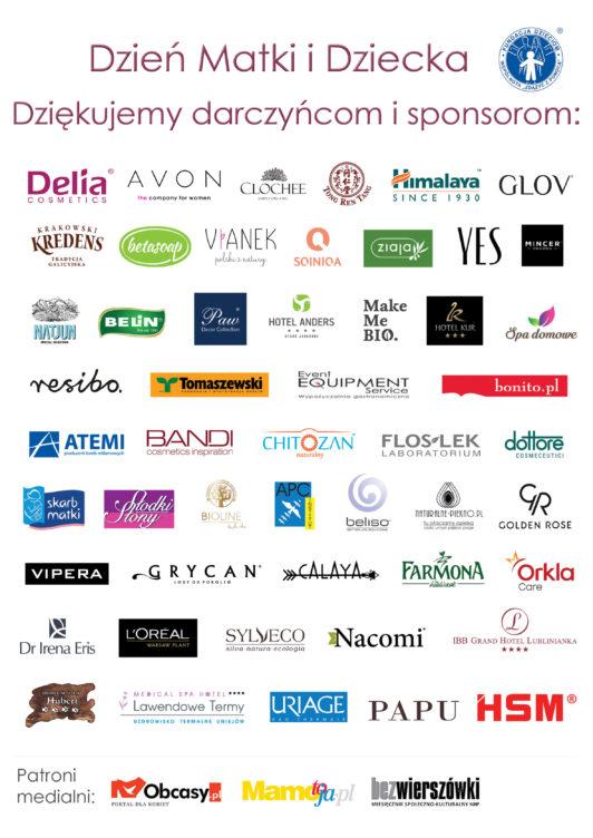 Logotypy Sponsorow