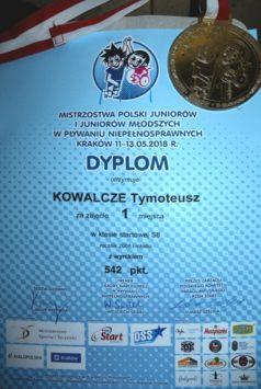 Dyplom Tymoteusza